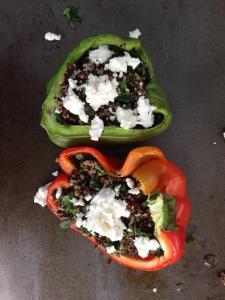 quinoa stuffed capsicum2